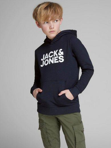 Jack & Jones Junior Kapuzensweatshirt unifarben