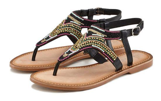 LASCANA Sandale mit aufwendiger Verzierung