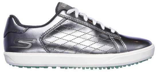SKECHERS PERFORMANCE »Golfschuh Drive - Shine« Fitnessschuh im trendigen Metallic-Look