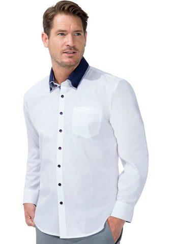Рубашка с длинными рукавами с kontrast...