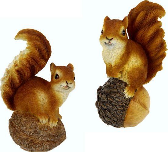 Tierfigur »Eichhörnchen« (Set, 2 Stück)