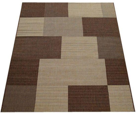 Teppich »Country 658«, Paco Home, rechteckig, Höhe 10 mm, In- und Outdoor geeignet