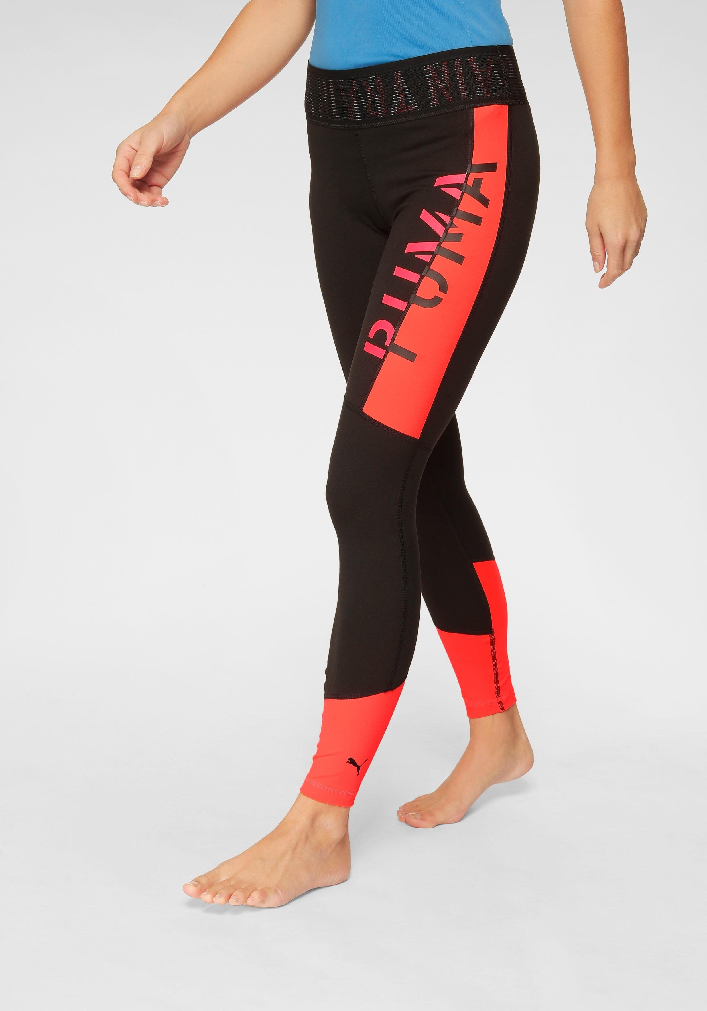 puma damen tights logo 7 8 tight