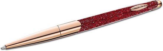 Swarovski Kugelschreiber »Crystalline Nova, rot, Rosé vergoldet, 5534323«, mit Swarovski® Kristallen