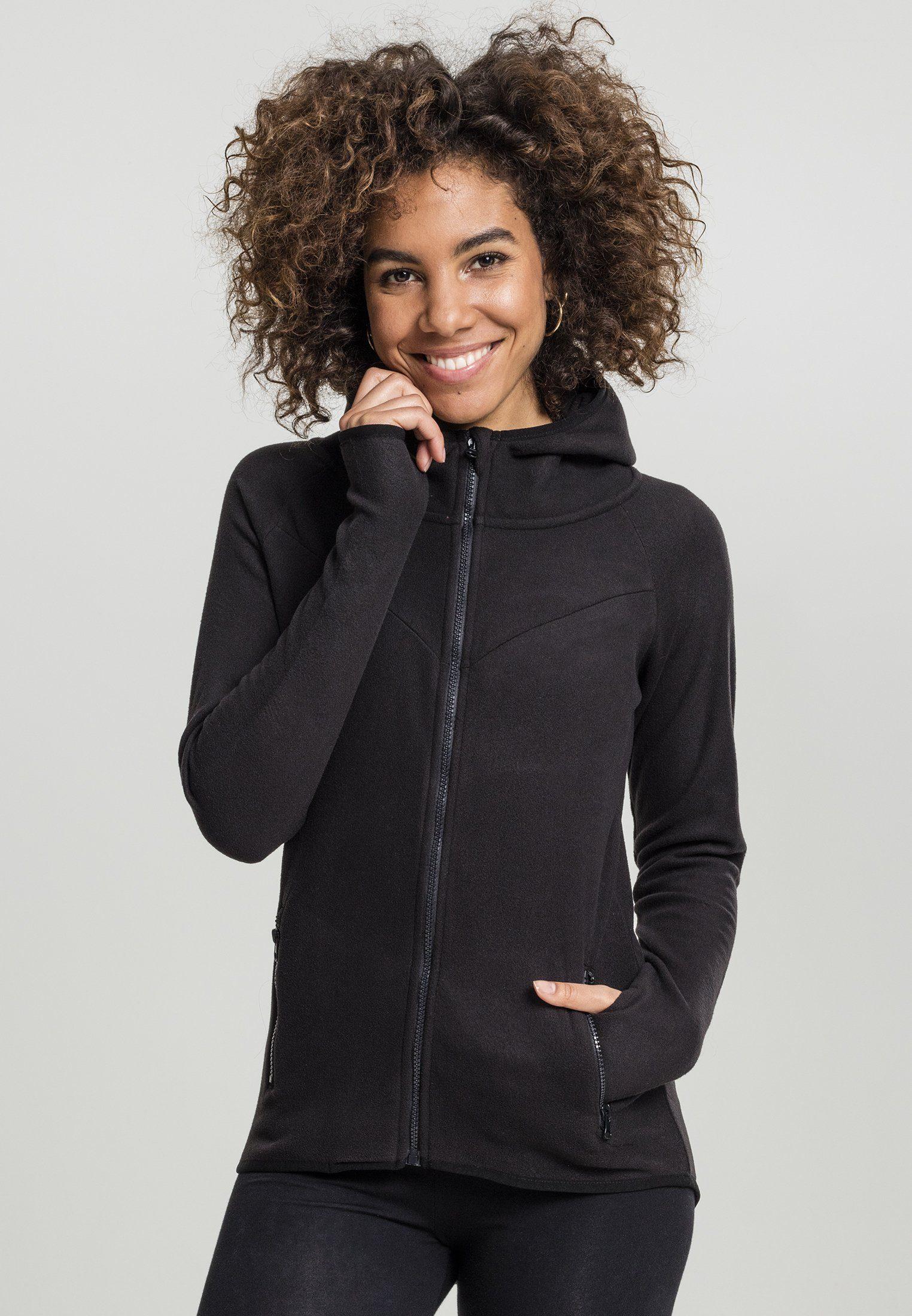 URBAN CLASSICS Sweatjacke »Ladies Polar Fleece Zip Hoody« online kaufen | OTTO