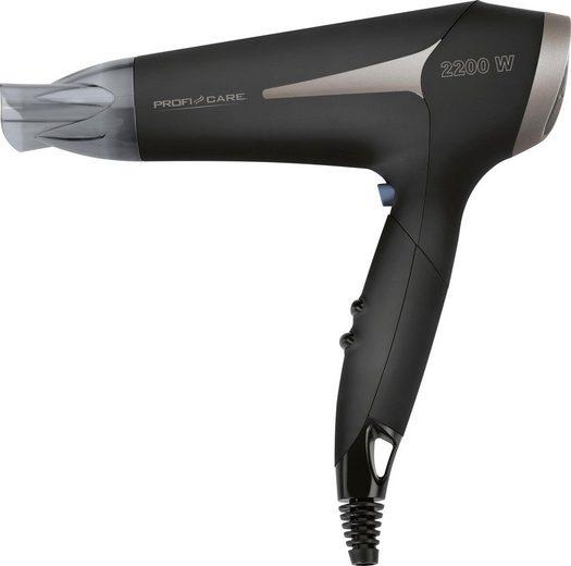 ProfiCare Haartrockner Pc-HAT 3046, 2200 W, Platzsparende Aufbewahrung durch Klappgriff