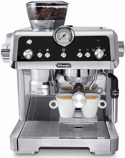 De'Longhi Espressomaschine La Specialista EC9335.M, Silber - Der Barista für Zuhause mit smarten Funktionen