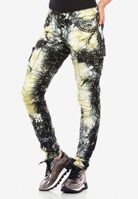 Hosen - Cipo Baxx Bequeme Jeans mit Cargotaschen und trendiger Waschung in Slim Fit ›  - Onlineshop OTTO