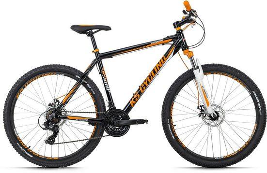 KS Cycling Mountainbike »Compound«, 21 Gang Shimano Tourney Schaltwerk, Kettenschaltung