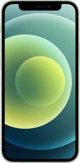 Apple iPhone 12 mini Smartphone (13,7 cm/5,4 Zoll, 256 GB Speicherplatz, 12 MP Kamera, ohne Strom Adapter und Kopfhörer, kompatibel mit AirPods, AirPods Pro, Earpods Kopfhörer)