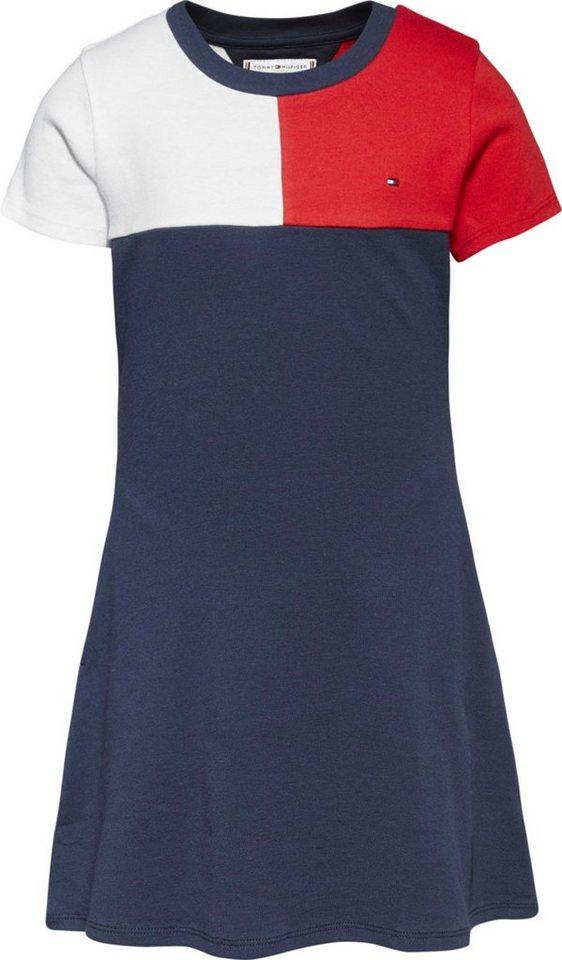 tommy hilfiger -  Jerseykleid in  Farbaufteilung