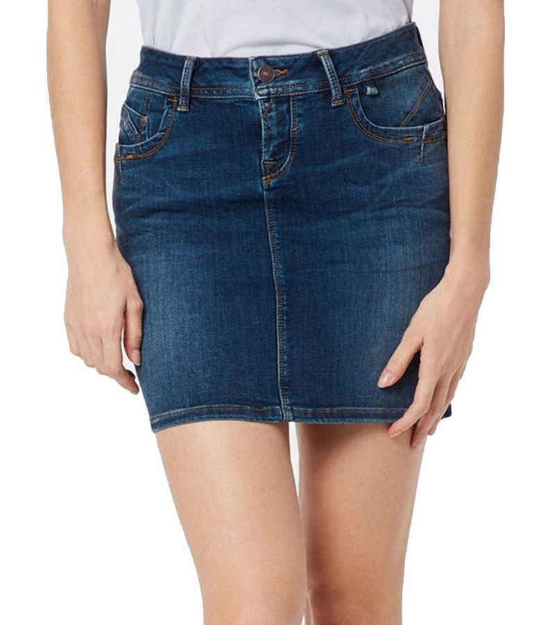 LTB Minirock »LTB Adrea Jeans-Rock stylischer Damen Denim-Rock Mini-Rock Party-Outfit Blau«