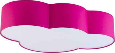 Licht-Erlebnisse Deckenleuchte »WOLKI Kinderleuchte Deccke Pink Wolkenform mit Magnethalterung Kinderzimmer Lampe«
