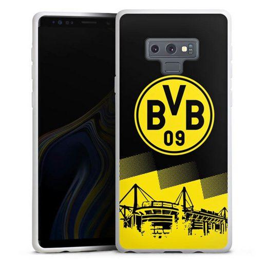 DeinDesign Handyhülle »BVB Two Tone« Samsung Galaxy Note 9, Hülle BVB Borussia Dortmund Stadion