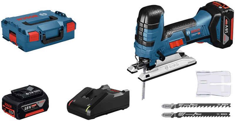 Bosch Professional Powertools Stichsäge »GST 18V-LI S«, Set, 18 V, mit Akku und Ladegerät
