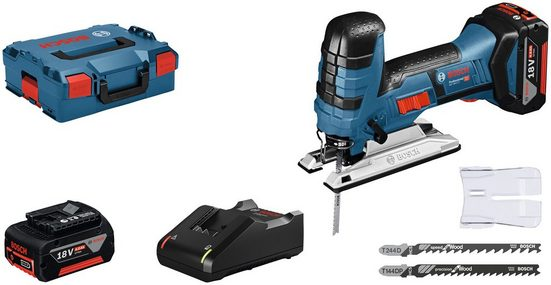 Bosch Professional Stichsäge »GST 18V-LI S«, Set, 18 V, mit Akku und Ladegerät