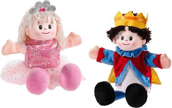 Heunec® Handpuppe »Poupetta - Prinzessin und Prinz« (Set, 2-tlg)