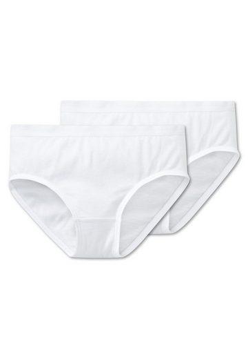 Schiesser Slip »Mädchen Slips 2er Pack - Unterhose, Cotton«
