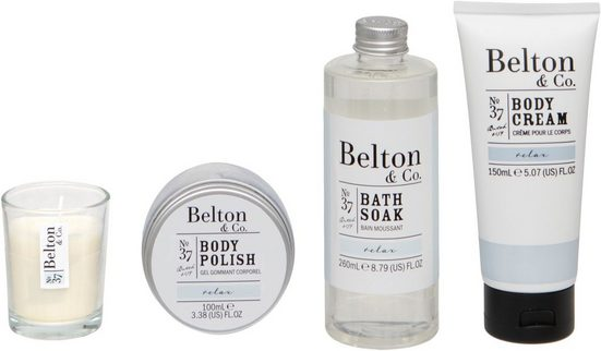Hautpflege-Set »Belton & Co - Relax Bath & Body Set«, 4-tlg.