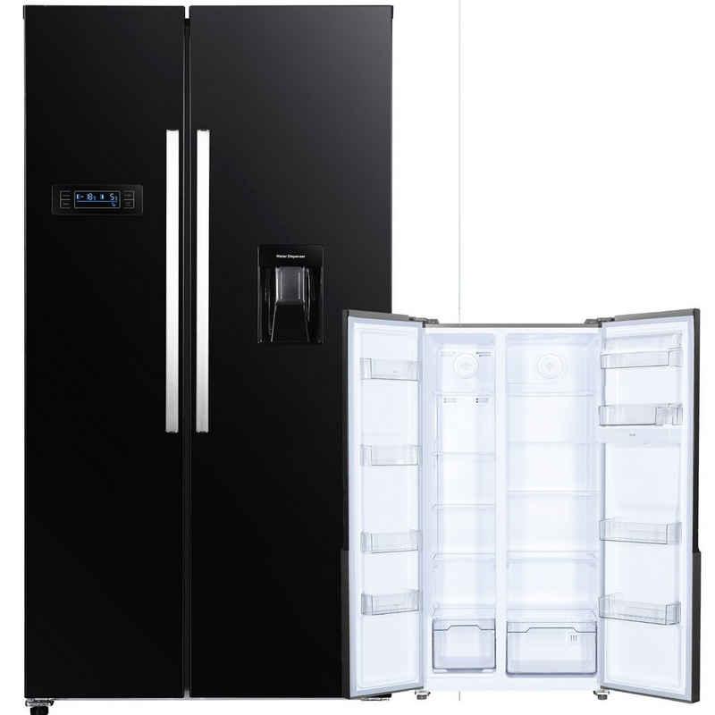 PKM Kühlschrank SBS560NFDB-M
