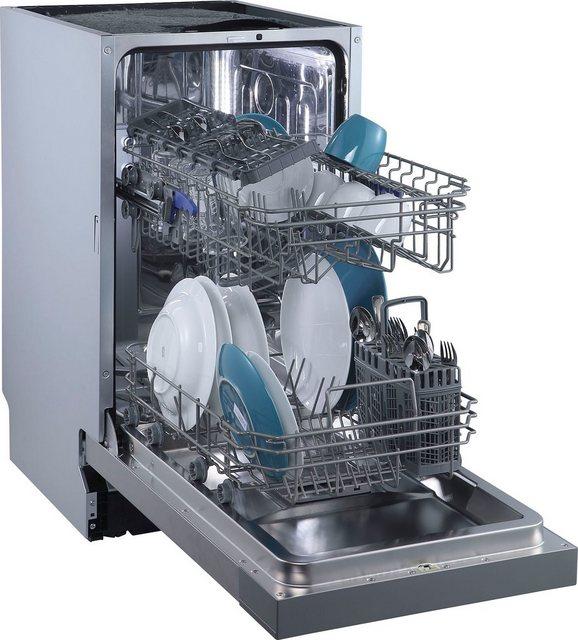 Küchengroßgeräte - Hanseatic Unterbaugeschirrspüler, HGU4582C10J7710DI, 8 l, 10 Maßgedecke  - Onlineshop OTTO