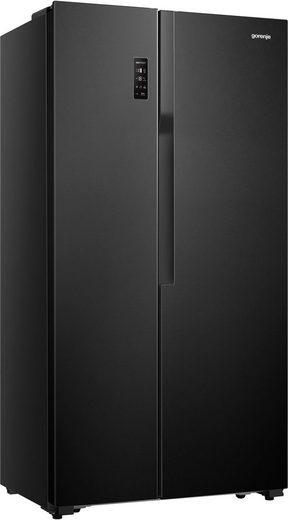 GORENJE Side-by-Side NRS918EMB, 178,6 cm hoch, 91 cm breit