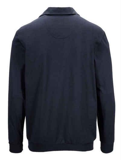 Babista Langarmshirt mit Velours-Besatz