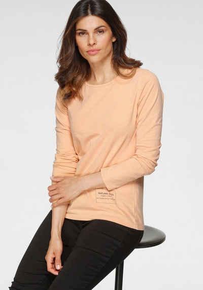 OTTO products Langarmshirt »natürlich gefärbt mit CLAY-DYE« GOTS zertifiziert - nachhaltig aus Bio-Baumwolle - NEUE KOLLEKTION