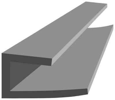 Baukulit VOX Abschlussleiste »Fine-Line B2«