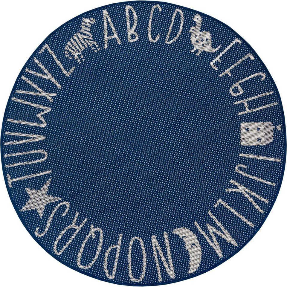 Kinderteppich »Alphabet«, Lüttenhütt, rund, Höhe 8 mm, In  und Outdoor  geeignet online kaufen   OTTO