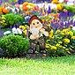 relaxdays Gartenzwerg »Gartenzwerg mit Eichelkörbchen«, Bild 2