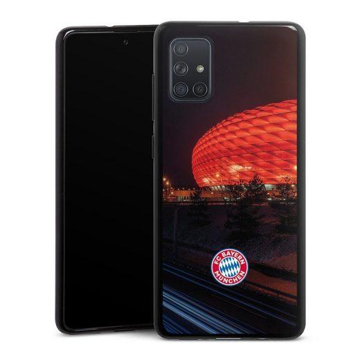 DeinDesign Handyhülle »Allianz Arena bei Nacht FCB« Samsung Galaxy A71, Hülle FCB Stadion FC Bayern München