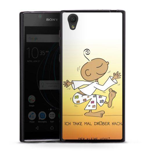 DeinDesign Handyhülle »Tanz mal drüber - Der kleine Yogi« Sony Xperia L1, Hülle Der kleine Yogi Tanzen Sprüche