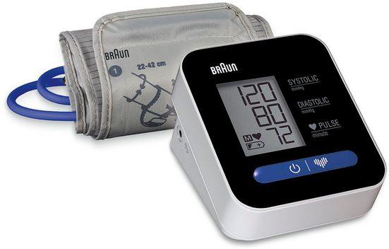 Braun Oberarm-Blutdruckmessgerät ExactFit™ 1 BUA5000V1, Universal-Manschettengröße 22-42 cm