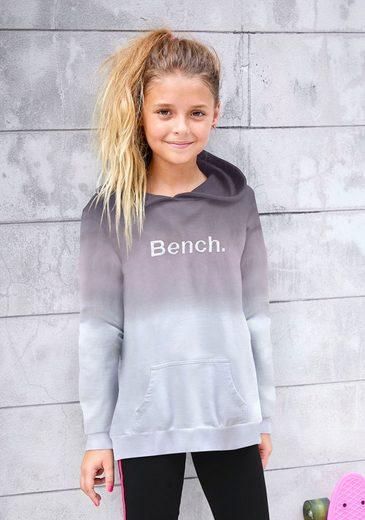 Bench. Kapuzensweatshirt mit Logo-Stickerei