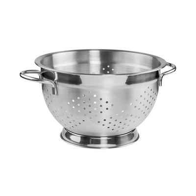 BUTLERS Küchensieb »MENUETT Nudelsieb mit Griff«, Edelstahl rostfrei