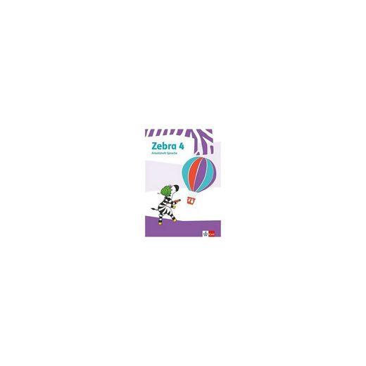 Klett Verlag Zebra. Ausgabe ab 2018: 4. Schuljahr, Arbeitsheft Sprache