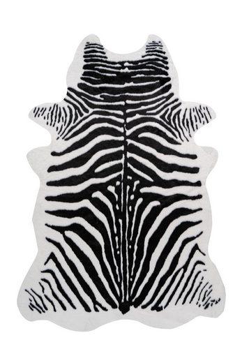 Fellteppich »Desert 100«, me gusta, fellförmig, Höhe 19 mm, Kunstfell, Zebra Design