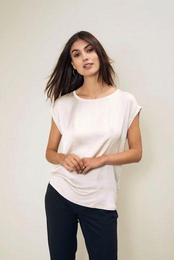 soyaconcept Shirtbluse »SC-Thilde6« Schluse- das Vorderteil Web, der Rücken aus Jersey