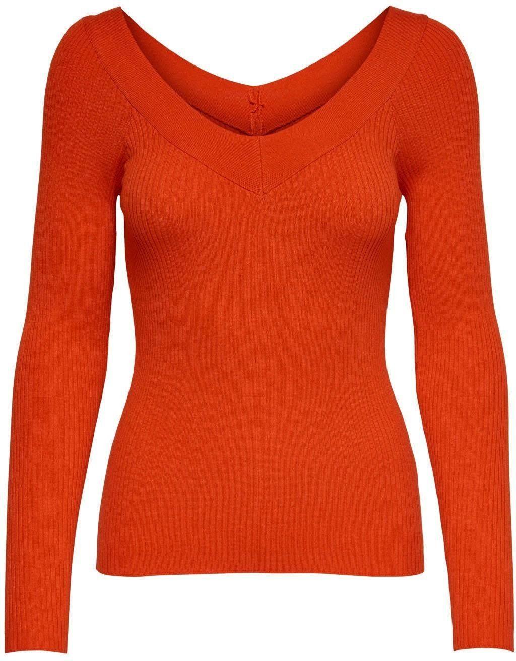 V-Ausschnitt Feinstrick verschiedene Pullover Gr 38