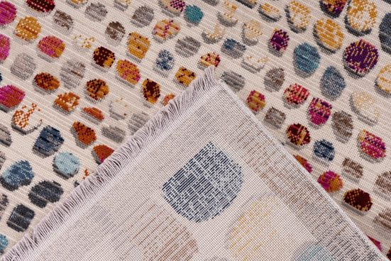 Teppich »Anouk 100«  me gusta  rechteckig  Höhe 5 mm  Flachgewebe  Vintage Look