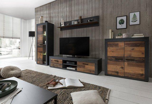 Wohnwände - Wilmes Wohnwand »Aosta«, (Set, 4 St)  - Onlineshop OTTO