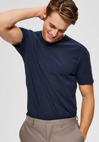 SELECTED HOMME Marškinėliai »NEW PIMA SS V formos išk...