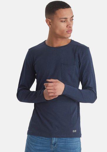Blend Langarmshirt aus Slubyarn