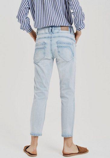 OPUS Boyfriend-Jeans »Letty« mit markanten Ziernähten