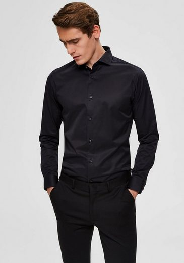 SELECTED HOMME Langarmhemd »SLIM SEL-PELLE SHIRT«