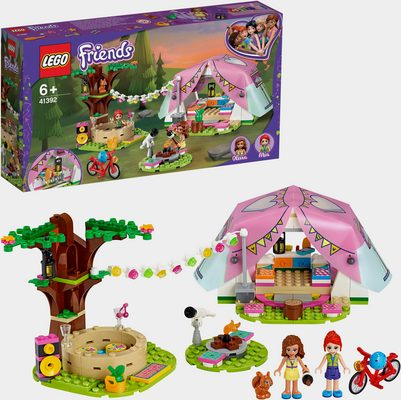 LEGO® Konstruktionsspielsteine »Camping in Heartlake City (41392), LEGO® Friends«, (241 St)