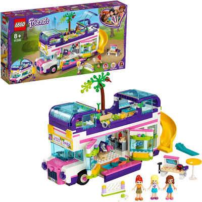 LEGO® Konstruktionsspielsteine »Freundschaftsbus (41395), LEGO® Friends«, (778 St), Made in Europe