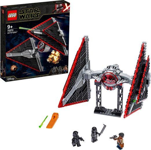 LEGO® Konstruktionsspielsteine »Sith TIE Fighter™ (75272), LEGO® Star Wars™«, (470 St)