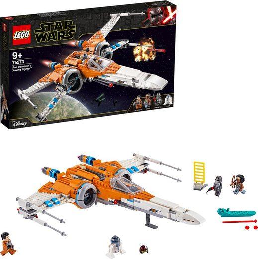 LEGO® Konstruktionsspielsteine »Poe Damerons X-Wing Starfighter™ (75273), LEGO® Star Wars™«, (761 St)